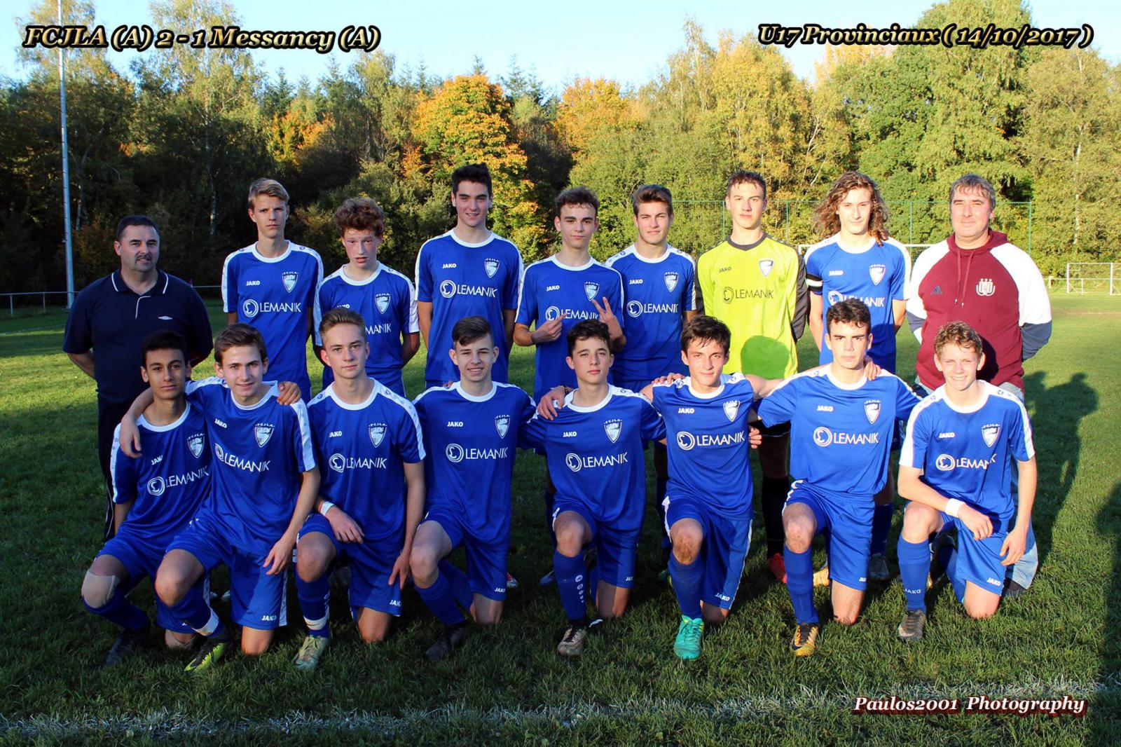 U17 Provinciaux - Football Club Arlon